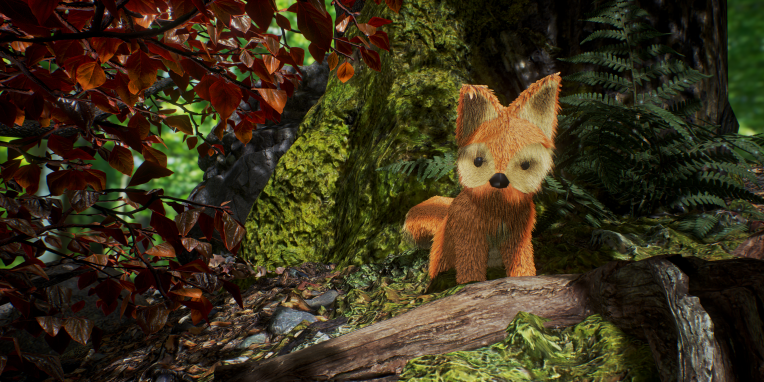 Low Poly Fox Character