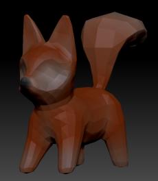 Fox Fur Color Gradient